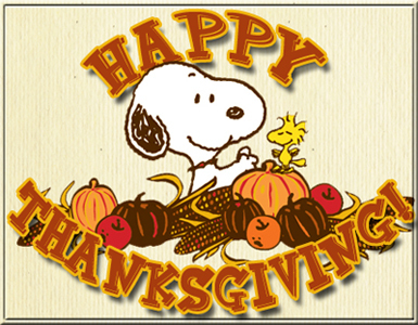 Happy thanksgiving from snoopy and woodstock the new internet jpg