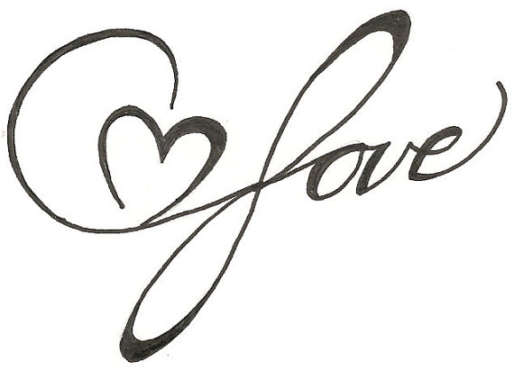 heart drawing Love you drawings in pencil with heart free download clip art jpg 2