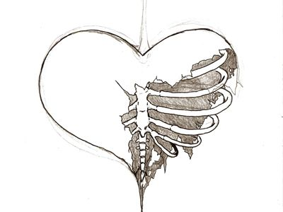 heart drawing Drawn hearts beautiful heart pencil and inlor drawn jpg