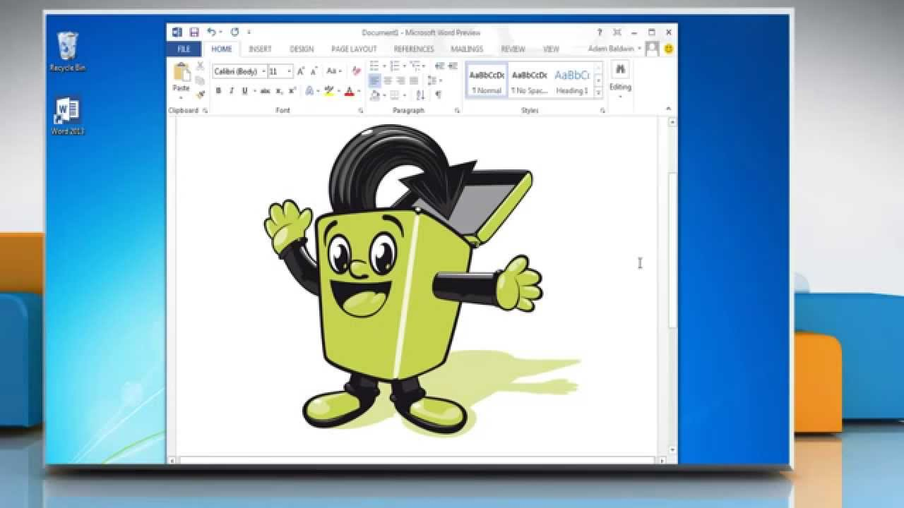 How to insert a clip art in microsoft word 3 youtube jpg