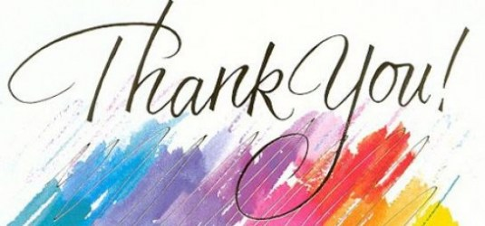 Simplistic animated thank you clip art with additional jpg